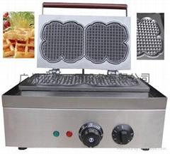 floral waffle maker,Waffle Iron,waffle baker,waffle machine,Belgian Waffle Make