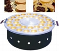 Rotatable waffle baker,red bean cake machine