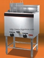 gas deep fryer 590x520x980mm,Capacity:28L
