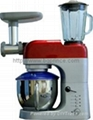 multifunction flour mixer+meat cutter+ice shaver