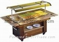 salad bar,salad island,salad working table,salad cabinet,salad table