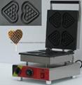 Heart shap waffle maker