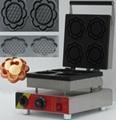 flower waffle machine,waffle baker, bowl shape waffle maker ,Waffle Toaster,