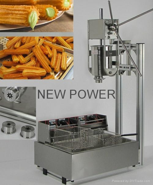 churros churro machine np 12 new power china manufacturer food beverage cereal. Black Bedroom Furniture Sets. Home Design Ideas