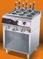 gas deep fryer 590x520x980mm,Capacity:28L