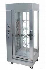 電熱旋轉燒烤爐--烤雞爐