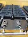 gas waffle machine, gas fish waffle maker