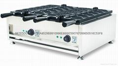 taiyaki waffle maker, waffle maker, taiyaki machine, ice cream waffle maker