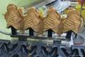 数字显示温控冰淇淋鲷鱼烧机 商用不锈钢不沾涂层