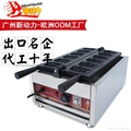 commercail cat shape of waffle maker