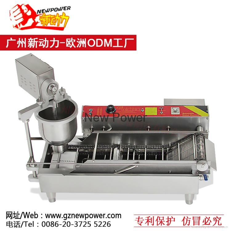 automatic donut fryer donut robot and doughnut fryers for sale from China 2