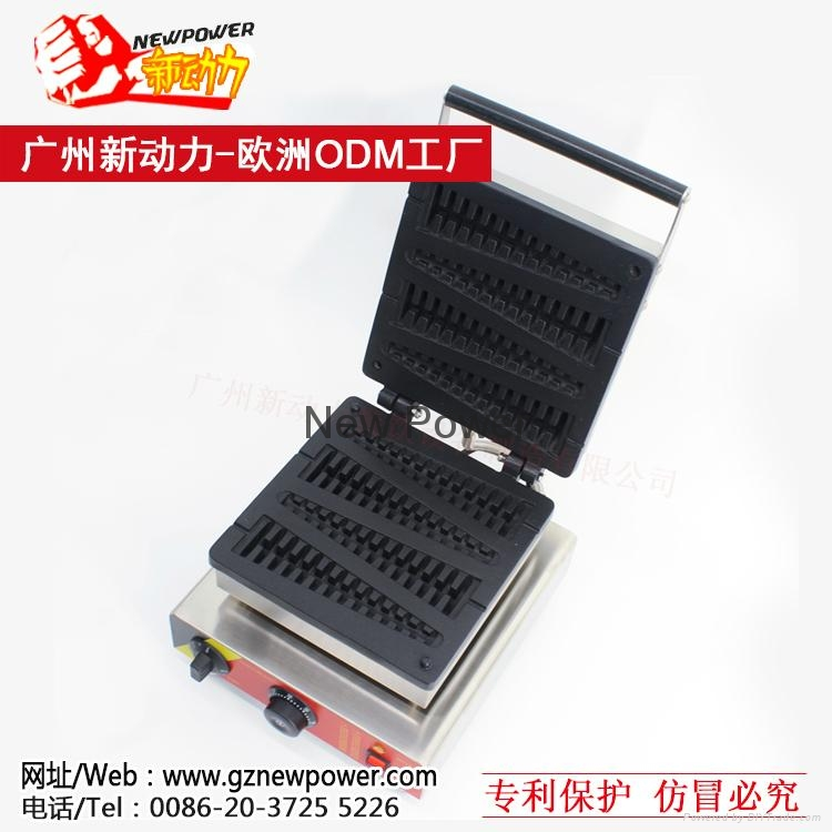 Lolly waffle maker, waffle baker, Commercial Waffle Toaster  3