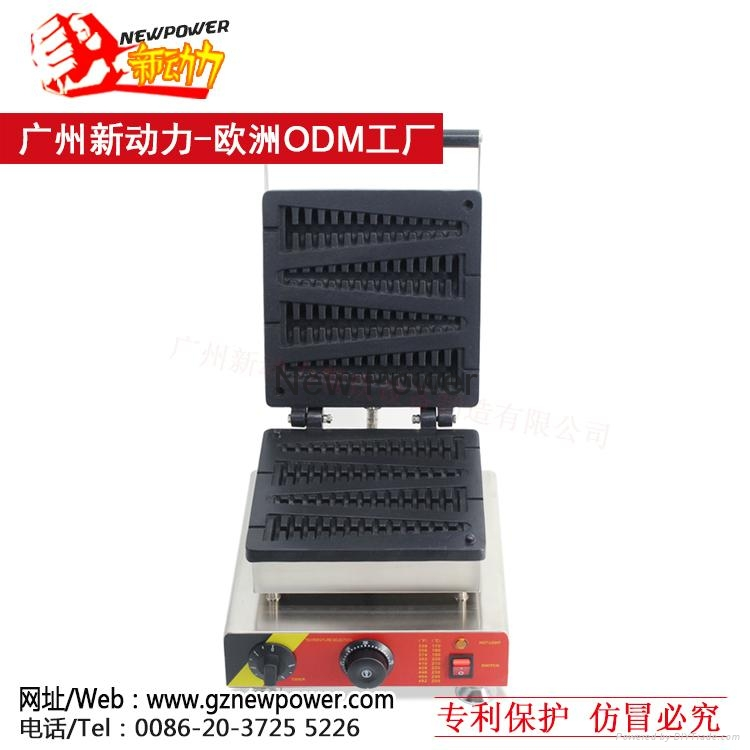 Lolly waffle maker, waffle baker, Commercial Waffle Toaster  2