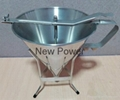 stainless steel funnel commercial dough