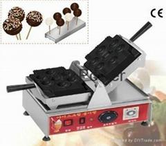 西欧时尚美食机器德国款棒棒糖华夫炉棒棒华夫机加盟棒棒糖松饼机