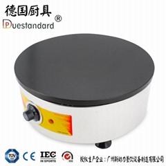 新品商用煎饼炉 铁鏊子电热煎饼果子机杂粮煎饼机台式煎饼炉