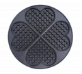 心型华夫饼 松饼机 比利时华夫 华夫炉电饼档设备