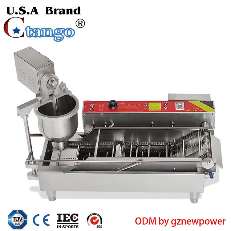 automatic donut fryer donut robot and doughnut fryers for sale from China 5