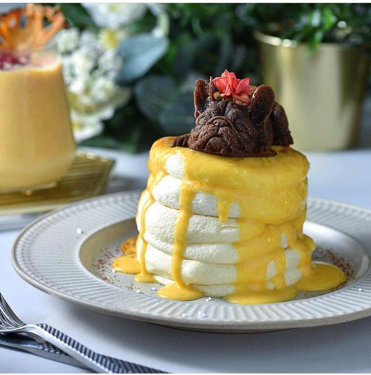 舒芙蕾松饼商用机器舒芙蕾铜扒炉机器梳乎厘机奶酪舒芙蕾蛋糕 10