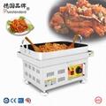商用韩式炒年糕机器 台式电加热铁板烧朝鲜小吃年糕条机Toppok