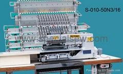 010 款50 針橡觔抽皺打纜鏈目縫紉機