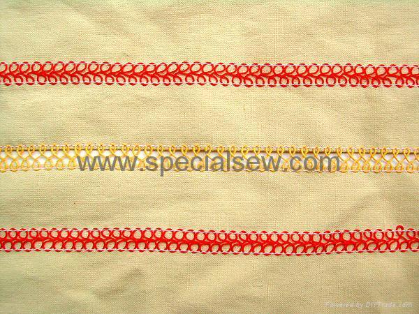 8 字型花飾線縫紉機 2