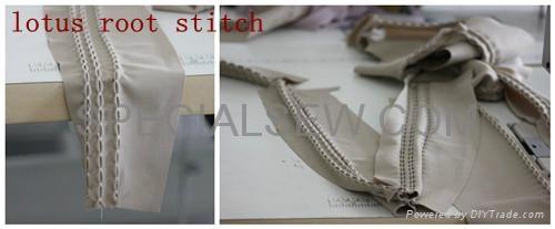 蓮藕裝飾線跡縫紉機 2