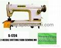 2-needle cutting-yarn sewing machine