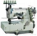 3-NEEDLE DECORATIVE STRETCH SEWING MACHINE