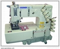 4-NEEDLE FLAT BED DOUBLE CHAINSTICH
