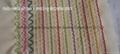 multi-needle chainstich pin tuck stitch sample