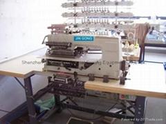008 系列  50 針橡觔褶皺縫紉機