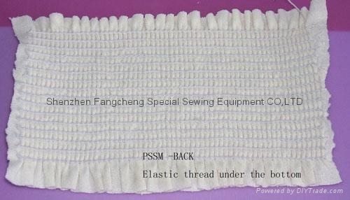 RENOWN TYPE 40 NEEDLE SMOCKING SEWING MACHINE 01040P JIN GONG Classy Sewing Machine Smocking