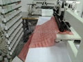 100 needle shirring chain stitch  sewing machine