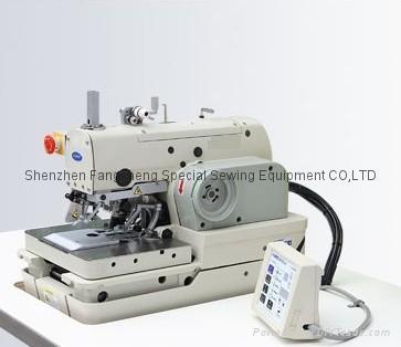 981n computerized eyelet button hole machine  1