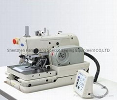 981n computerized eyelet button hole machine