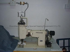 TREASURE TWIN-NEEDLE HAND OPERATING EMBROIDERY MACHINE