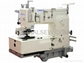KANSAI Cylinder-bed 12-needle Double Chain-stitch Sewing Machine