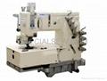 KANSAI Cylinder-bed 12-needle Double Chain-stitch Sewing Machine