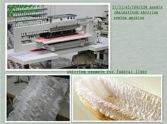 MULTI-NEEDLE SHIRRING SEWING MACHINE