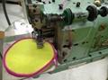 Emblem overlock sewing machine