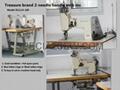 TREASURE TWIN-NEEDLE HAND OPERATING EMBROIDERY MACHINE