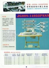 33 針有底線打纜裝飾線跡橡觔縫紉機PSSM