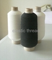 elastic sewing thread