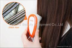 新款500萬像素電腦型毛髮檢測儀,頭髮測試儀,頭髮檢測儀