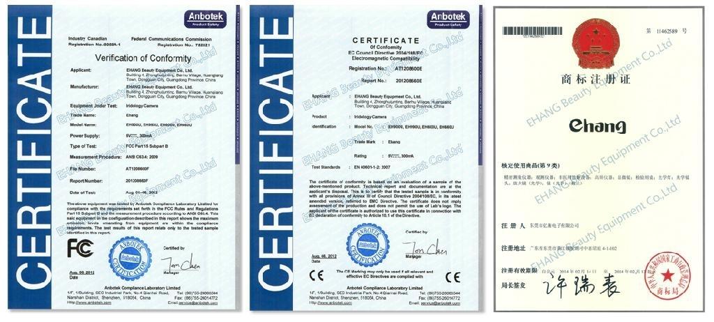FCC, CE Certification