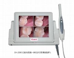 最新8寸高清CCD口腔内窥镜/口腔检测仪/牙科放大镜一体机