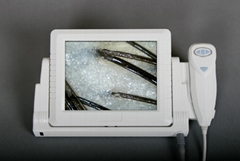 Newest 5MP digital Hair Analyzer with 8 inch LCD monitor