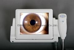 Japan CCD Portable 8-inch LCD iriscope,iridology camera(EH-3000)
