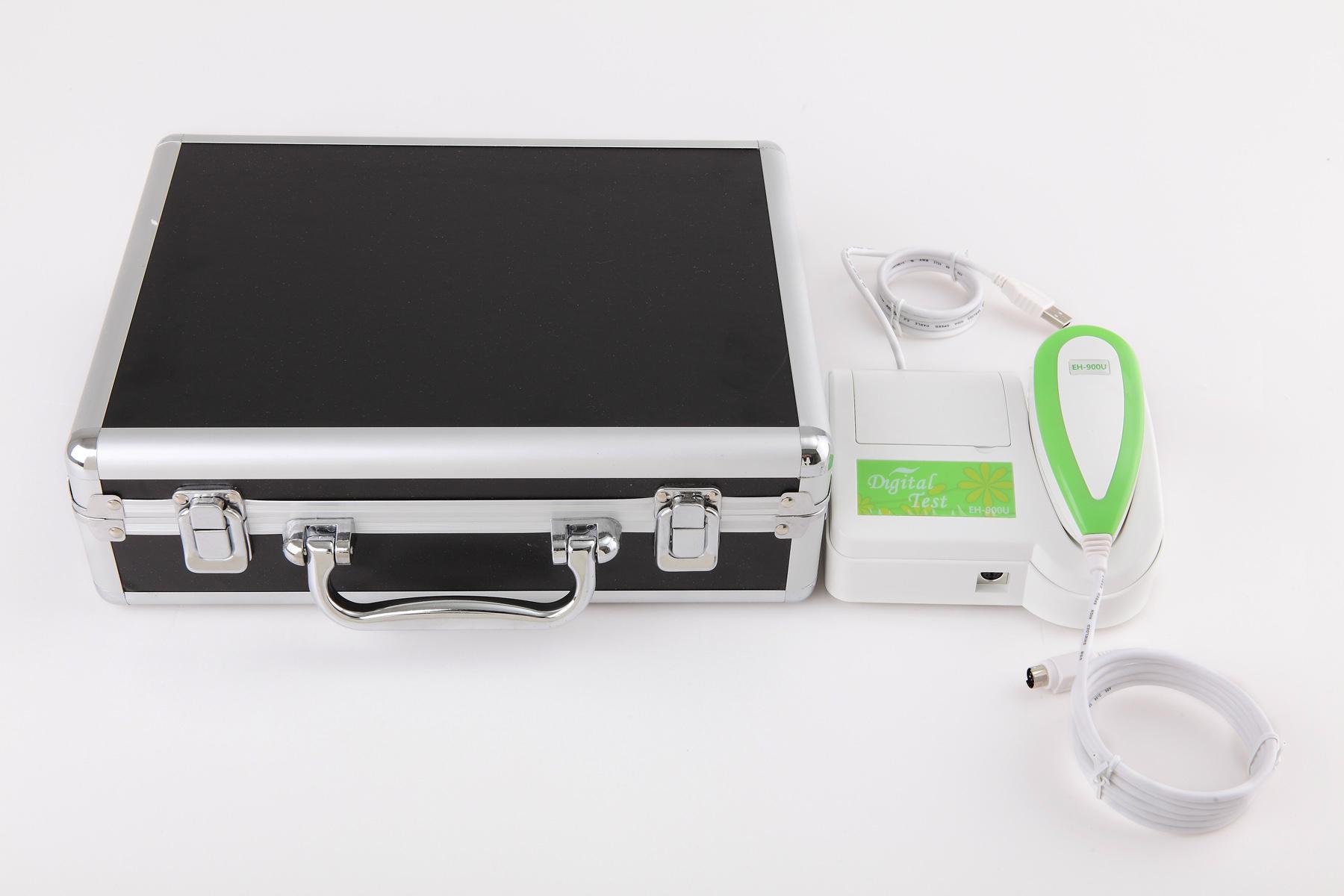 全新500万像素USB电脑型左/右灯自动分析虹膜检测仪 5